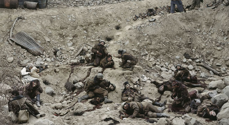 Jeff Wall Dead troops talk